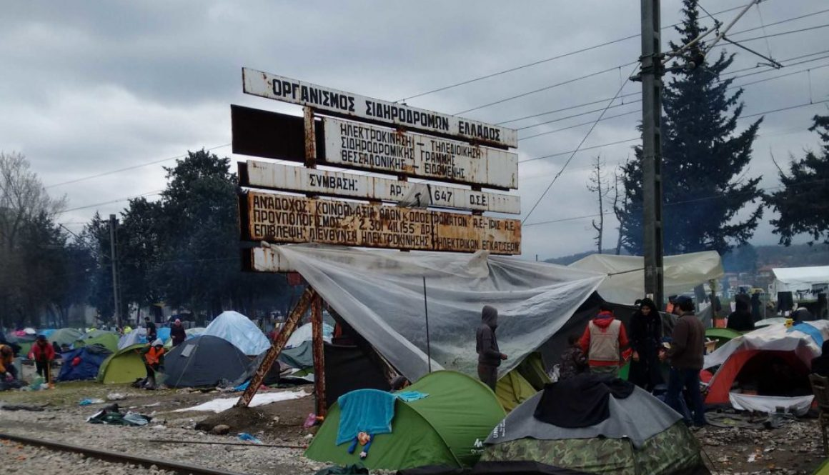 """We Are in Europe, We Have Rights""–Idomeni"
