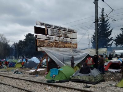 """""""We Are in Europe, We Have Rights""""–Idomeni"""