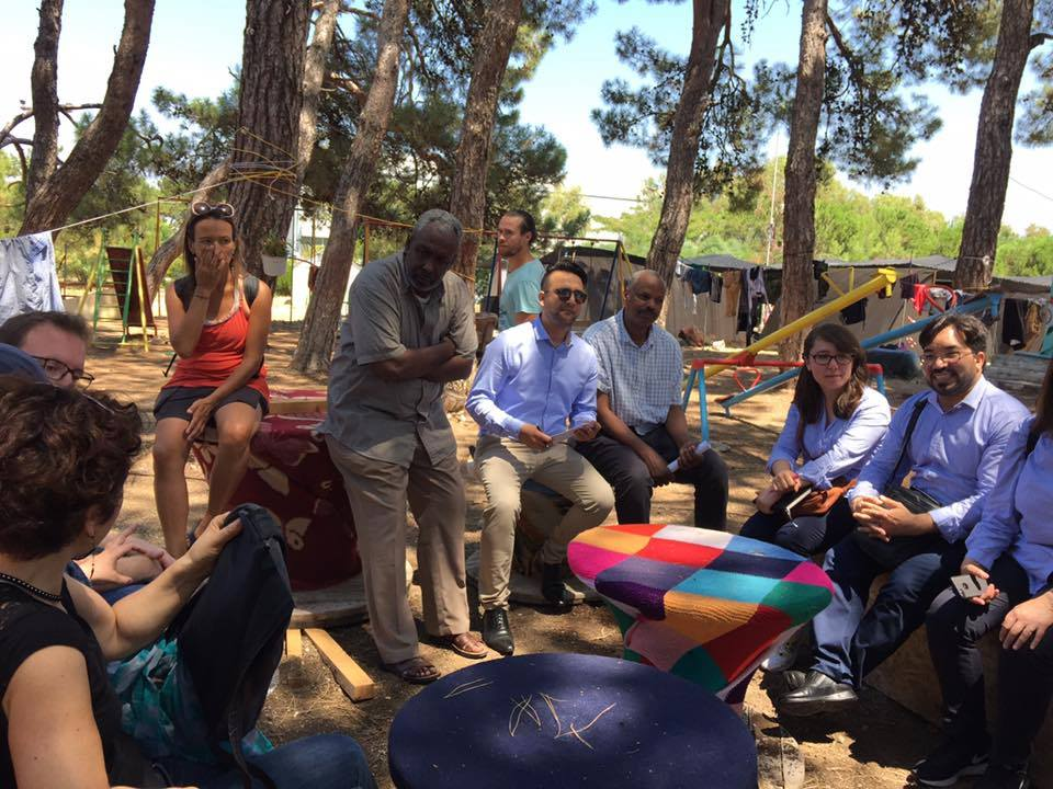 RISE Network's Study Trip to Lesvos