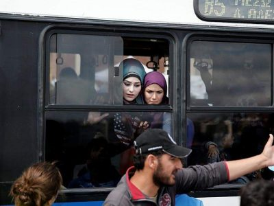 Migrant camps reopening on Greek mainland.