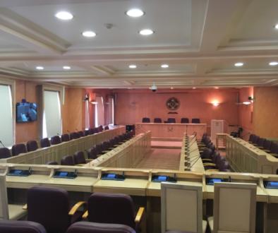 μέγαρο αίθουσα συνεδριάσεων